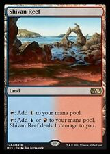 FOIL Barriera di Shiv - Shivan Reef MTG MAGIC 2015 M15 Eng/Ita