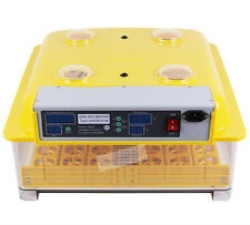 Fully Automatic Digital Poultry Egg Incubator Hatching Chicken Duck Goose+Candle