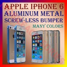 ACM-ALUMINUM BUMPER METAL CASE COVER SCREWLESS FRAME for APPLE IPHONE 6 MOBILE