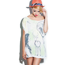 OFFICIAL Zoo Project Ibiza: Zoo You Zooland Loose Fit T-shirt Dress RRP £50.00