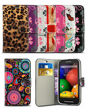 Flip Printed Wallet Case Cover For Alcatel One Touch 3040 OT3040 Mobile Phone