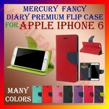 ACM-MERCURY DIARY RICH FLIP CASE for APPLE IPHONE 6 MOBILE MULTI-COLOR COVER