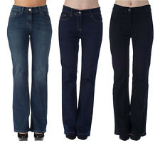 Womens Ex High Street Slim Boot Cut, Boot Leg Jeans 8 - 28 4 Leg Lengths