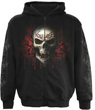 Spiral Direct Best Seller Game Over Full Zip Hooded,/Music/Pullover/Hood/Gothic