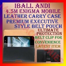 ACM-BELT CASE of IBALL ANDI 4.5M ENIGMA MOBILE LEATHER POUCH CARRY COVER HOLDER