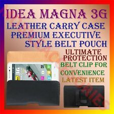 ACM-BELT CASE for IDEA MAGNA 3G MOBILE LEATHER POUCH CARRY COVER CLIP HOLDER NEW