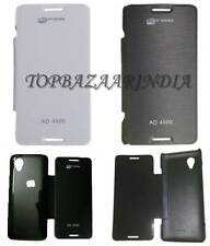 Premium Synthetic Leather Flip Cover Case for Micromax Bolt AD4500
