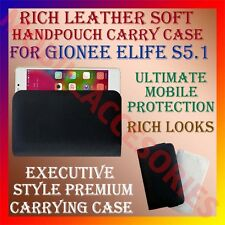 ACM-RICH LEATHER SOFT CASE for GIONEE ELIFE S5.1 MOBILE HANDPOUCH RICH COVER NEW