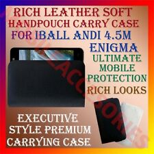 ACM-RICH LEATHER SOFT CASE for IBALL ANDI 4.5M ENIGMA MOBILE HANDPOUCH COVER NEW