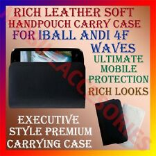 ACM-RICH LEATHER SOFT CASE for IBALL ANDI 4F WAVES MOBILE HANDPOUCH COVER HOLDER