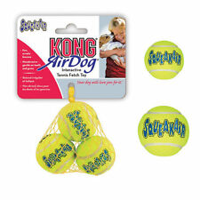 AIR KONG DOG Squeaker Tennis Balls Bouncy Puppy Toy Heavy Duty High Quality NEW!