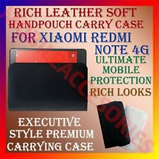 ACM-RICH LEATHER SOFT CASE for XIAOMI REDMI NOTE 4G MOBILE HANDPOUCH COVER CASE