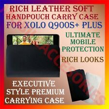 ACM-RICH LEATHER SOFT CASE for XOLO Q900S+ PLUS MOBILE HANDPOUCH PREMIUM COVER