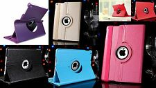 360° Case Tasche Smart Tablet Schutz hülle Flip Etui Cover Apple Folie Sim Nadel