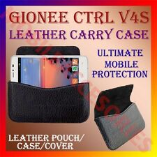 ACM-HORIZONTAL LEATHER CARRY CASE for GIONEE CTRL V4S MOBILE POUCH COVER HOLDER