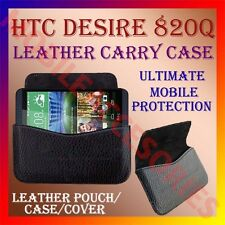 ACM-HORIZONTAL LEATHER CARRY CASE for HTC DESIRE 820Q MOBILE POUCH COVER HOLDER