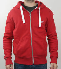 SuperDry Kapuzenpullover ORANGE LABEL ZIPHOOD MS2IX062F1 OPK - RED - rot +NEU+