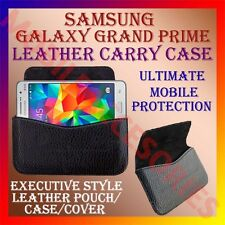 ACM-HORIZONTAL LEATHER CARRY CASE for SAMSUNG GALAXY GRAND PRIME MOBILE COVER