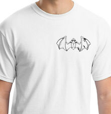 EVIL GOD OF EMPTYNESS STYLE BAT WHITE T SHIRT ANIMAL GIFT BIRTHDAY