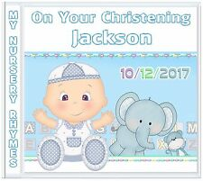 Boys Christening: Fun Nursery Rhymes Keepsake Gift ♡ Personalised Gifts 4 Kids