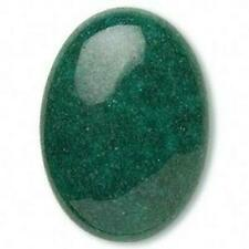 Nephrite Green Mountain Jade 25x18mm Domed Oval Gemstone Cabochon