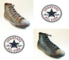 100%CONVERSE ALL STAR CT GALLE HI Homme Femme Chaussures scarpe Cuir Chucks