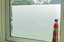 Traditional Frosted Etched Glass Static Decorative Vinyl Privacy Window Film