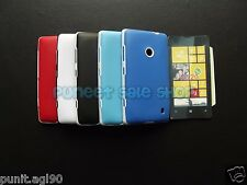 Hybrid Dual Tone Platina Soft Back Cover Case for Nokia Lumia 520 525
