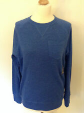 GAP Men's Long Sleeve TOP - S, M, L, XL - Oatmeal heather, Blue - NEW with tag