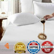 Waterproof Terry Towel Mattress Protector Bed Cover Single Double King All Sizes