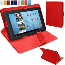 Universal Leather Stand Folding Folio Case Cover Pouch For 9 10 Inch Tablets Tab