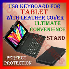 "ACM-USB KEYBOARD CASE for ALL MODELS UNIVERSAL 10.1"" 10"" 9.7"" TAB STAND CASE K2"