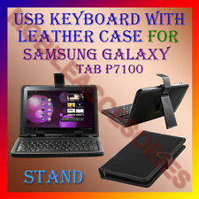 "ACM-USB KEYBOARD 10"" CASE for SAMSUNG GALAXY TAB P7100 LEATHER COVER STAND TAB"