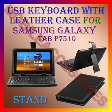 "ACM-USB KEYBOARD 10"" CASE for SAMSUNG GALAXY TAB P7510 LEATHER COVER STAND TAB"