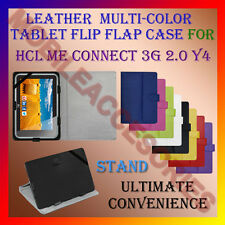 "ACM-LEATHER FLIP FLAP MULTI-COLOR 7"" COVER & STAND for HCL ME CONNECT 3G 2.0 Y4"
