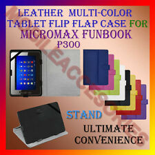 "ACM-LEATHER FLIP FLAP MULTI-COLOR 7"" COVER & STAND for MICROMAX FUNBOOK P300 TAB"