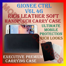 ACM-RICH LEATHER SOFT CASE of GIONEE CTRL V6L 4G MOBILE HANDPOUCH COVER HOLDER