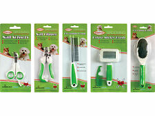 Dog & Cat Pet Grooming Set inc Comb, Clippers, Scissors, Slicker & Bristle Brush