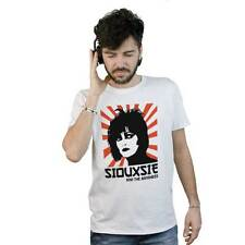 T-Shirt Siouxsie And The Banshees, maglietta bianca Post Punk New Wave Rock UK