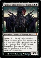 Kalitas, Capo Sanguinario di - Bloodchief of Ghet MTG MAGIC Zen Zendikar Eng/Ita