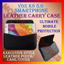 ACM-HORIZONTAL LEATHER CARRY CASE for VOX K8 5.0 SMARTPHONE MOBILE POUCH COVER