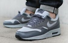 Nike Air Max 1 Essential Mens Adults Running Shoes Trainers - Dark & Light Grey