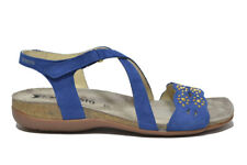 MEPHISTO Sandali electric blue scarpe donna mod. AKINA SP