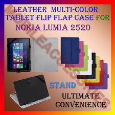 "ACM-LEATHER FLIP MULTI-COLOR 10"" COVER CASE STAND for NOKIA LUMIA 2520 TABLET"