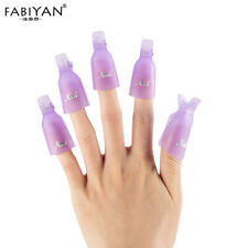 10PCS Soak Off Clip Cap UV Gel Polish Remover Ongle Acrylique Manucure Nail Art
