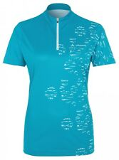 Vaude Tremalzo Shirt Radtrikot Damen - alpine lake