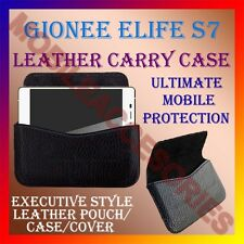 ACM-HORIZONTAL LEATHER CARRY CASE for GIONEE ELIFE S7 MOBILE POUCH COVER HOLDER
