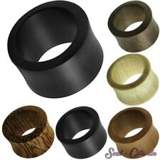 3-25MM FLESH TUNNEL PLUG LEGNO DOUBLE FLARED TUNNEL CORNO TUNNEL PALMA