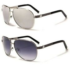 SONNENBRILLE SCHWARZ AIR FORCE UV400 AVIATOR HERREN DAMEN VINTAGE RETRO DESIGNER