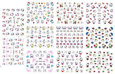 Hello Kitty 3D Nail Art Sticker NEW Decal USA Seller Free Fast Shipping